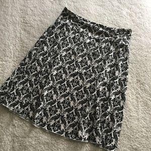 Soybu Black and White Skirt